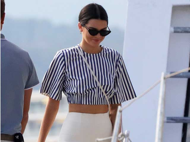 Kendall Jenner's nautical style