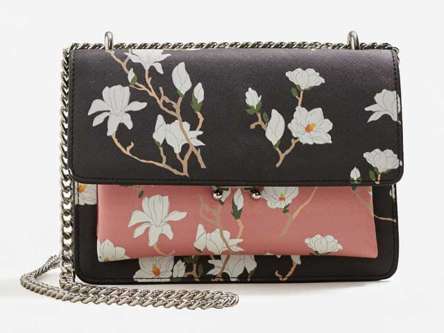 Printed bag available at Mango