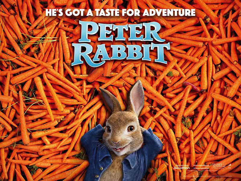 Watch Peter Rabbit Animated movies at Vox Cinemas in Dubai