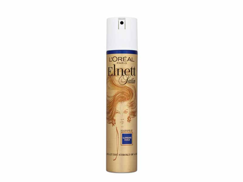 Supreme Hold Hairspray from L'Oréal Elnett Satin at Carrefour Shindagha