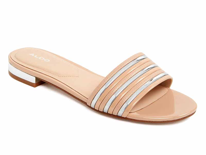 Sandals by Aldo, available at Mall of the Emirates and City Centres